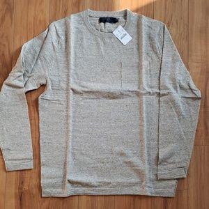 J. Crew Crewneck Pocket Sweater